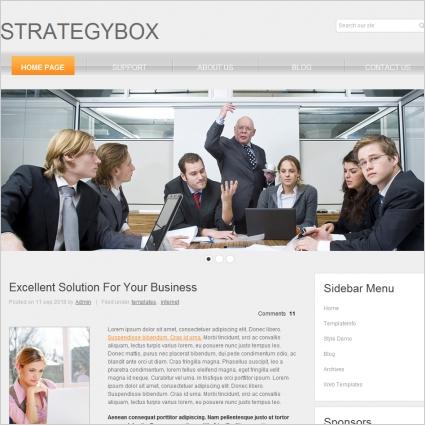 Strategy Box Template