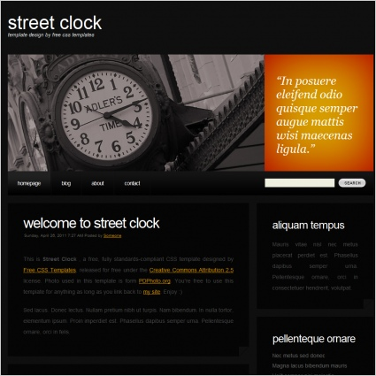 streetclock