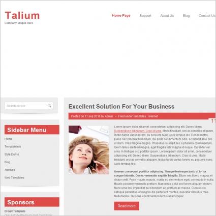 Talium Template