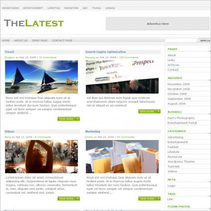 The Latest Template Free website templates in css, html, js format ...
