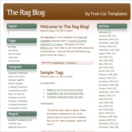 the rag blog