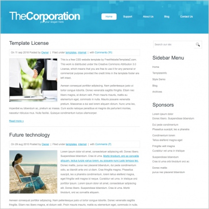TheCorporation Template