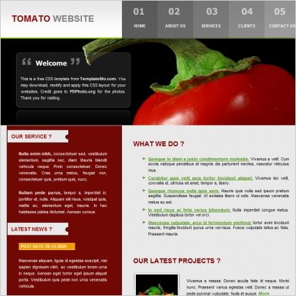 Tomato Template