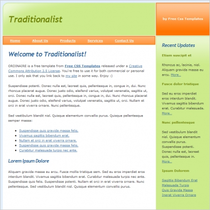 traditionalist