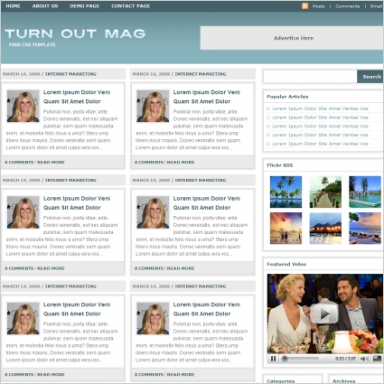 Turn Out Mag Template