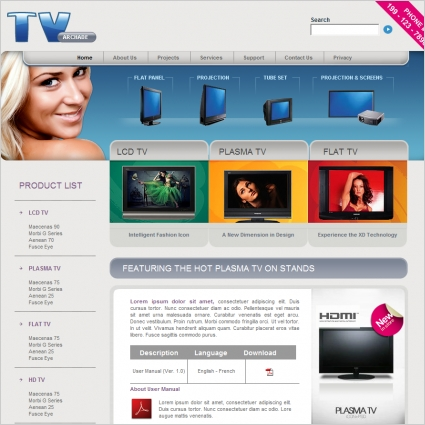 TV Archade Template