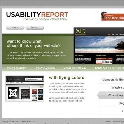 UsabilityReport Template
