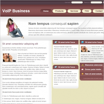 VoIP Business Template