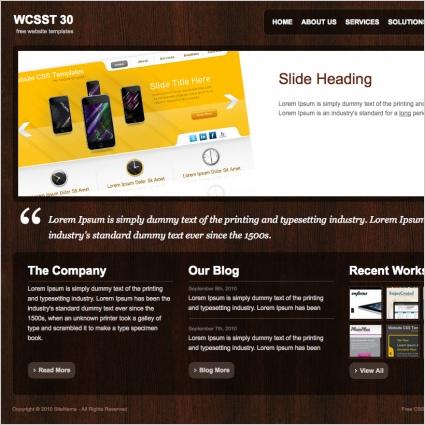 WCSST 30 Template