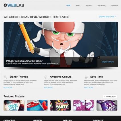 WebLab Template