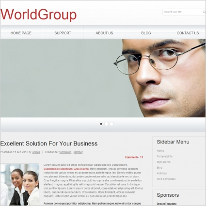World Group Template