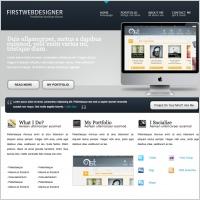 1stDelicious Portfolio Template