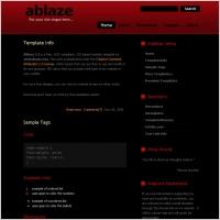 Ablaze 2.1 Template