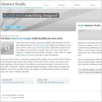Abstract Studio Template