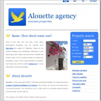Alouette Agency Template