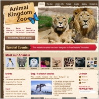 Animal Kingdom Zoo Template