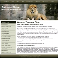 Animal Planet Template