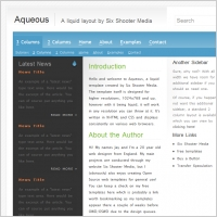 Aqueous Template