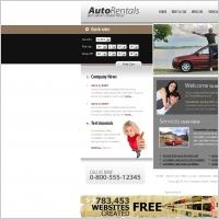 Auto Rentals Template