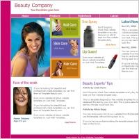 Beauty Company Template