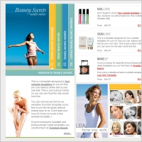 Beauty Secrets Template