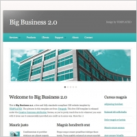 Simple templates html and css free website templates for free big business 20 fbccfo Images