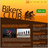 Bikers Club Template
