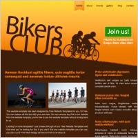 Bikers Club Template
