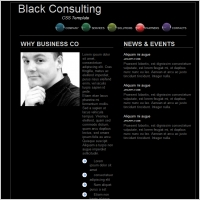 Black Consulting Template