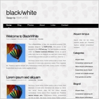 Company profile design template free website templates for free blackwhite friedricerecipe Choice Image