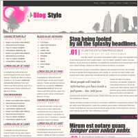 Blog Style Template
