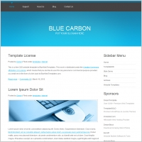 Blue Carbon Template