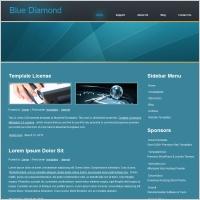 Blue Diamond Template