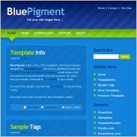 Blue Pigment 1.0 Template