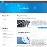 Blue Shuffle Template