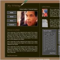 Book Author Template