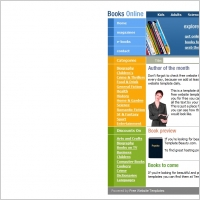 Books Online Template