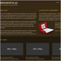 BrownFolio Template