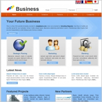 Free business website templates free website templates for free agency website template business cheaphphosting Images