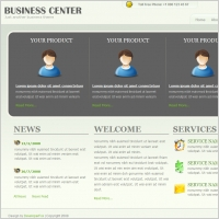 Business Center Template