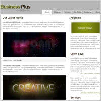 Business Plus Template