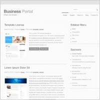 Business Portal Template