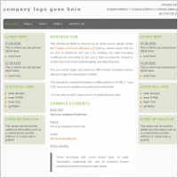 Business Three Template