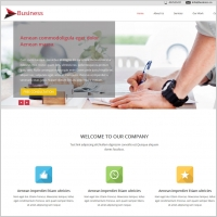 Free business website templates free website templates for free business website template wajeb Gallery