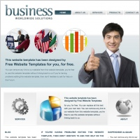 Business Worldwide Solutions Template