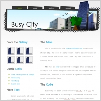 Busy City Template