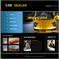 Cars free website templates for free download about 18 free car dealer template maxwellsz