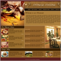 Chinese Cuisine Template