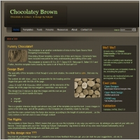 Chocolatey Brown Template