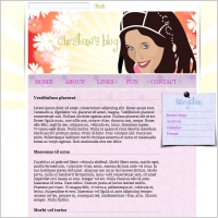 Christine´s Blog Template